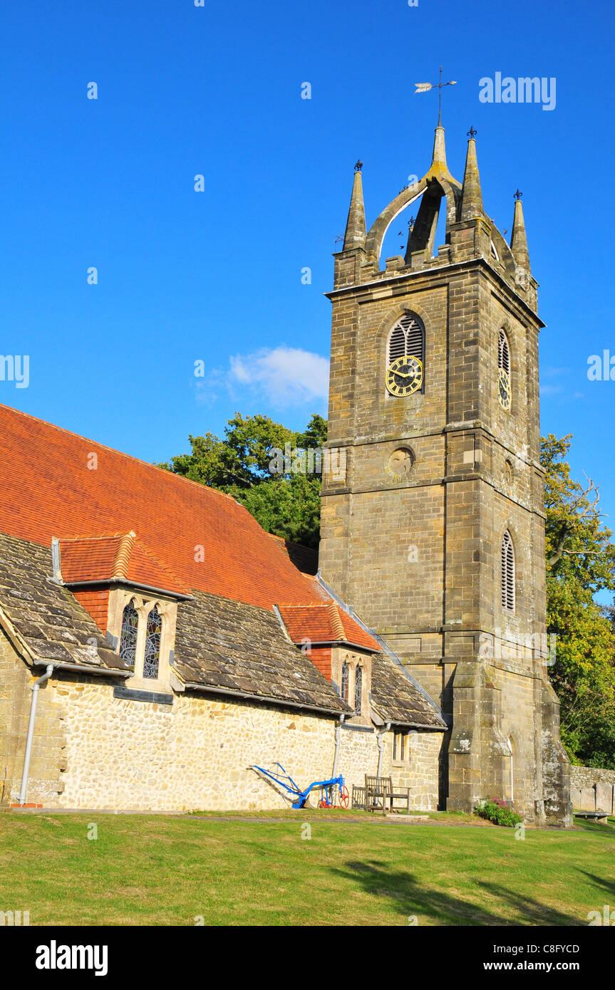 Tillington Parish Church, Tillington, West Sussex Stock Photo