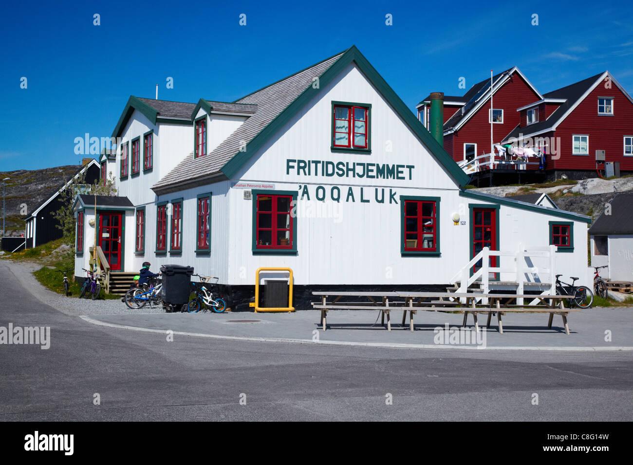 Fritidshjemmet Aqqaluk (Kindergarten), Nuuk, Greenland - Stock Image