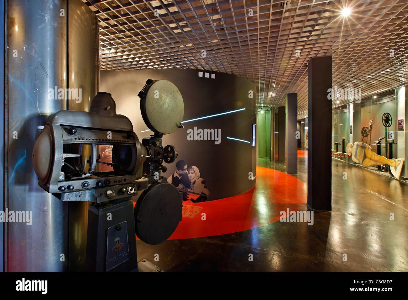 The museum of cinema, in Thessaloniki, Macedonia, Greece - Stock Image