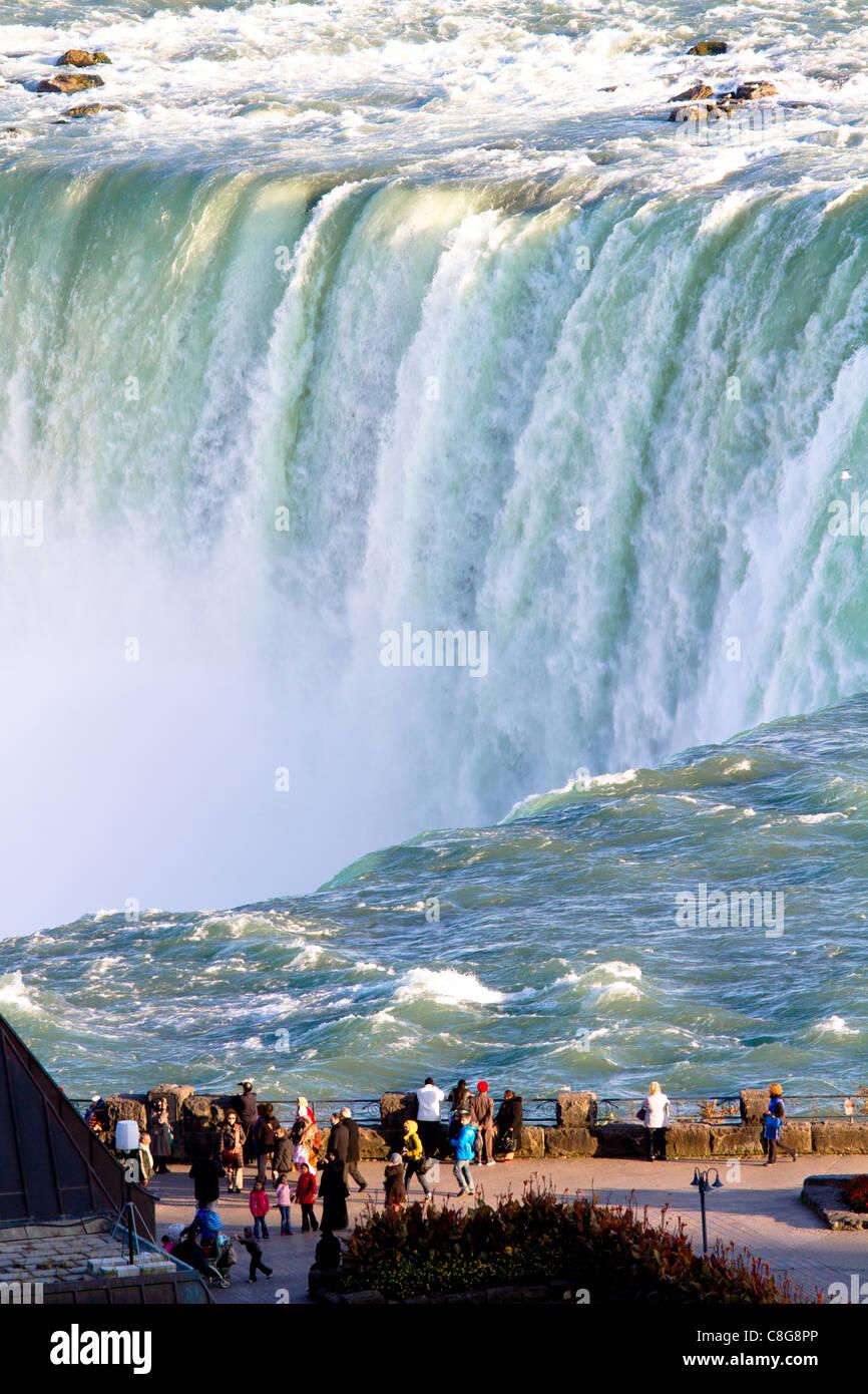 niagara falls waterfall - Stock Image