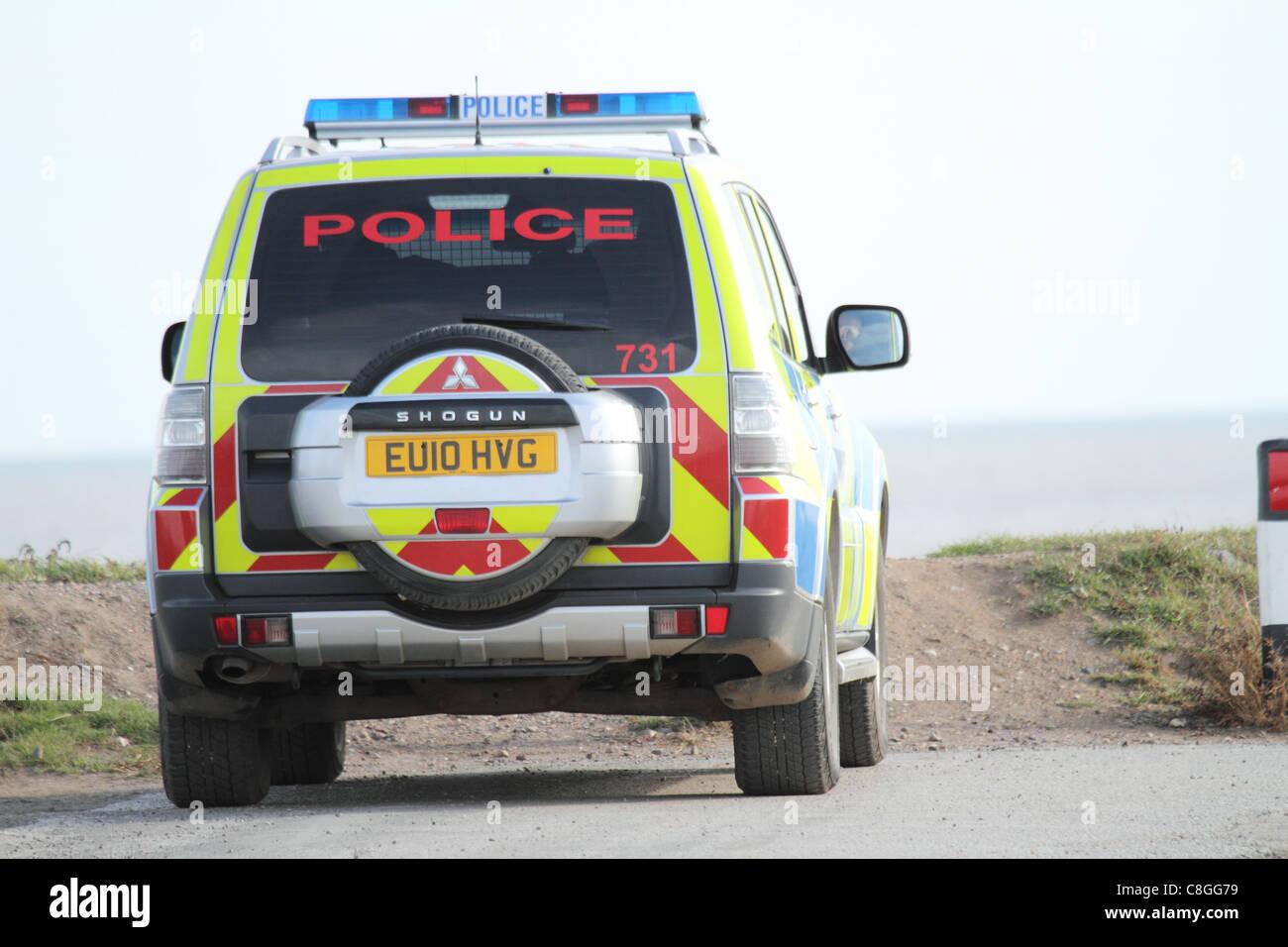police car - Stock Image