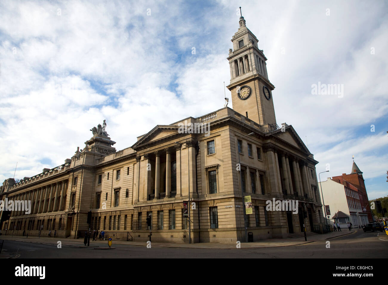 The Guildhall building, Hull, Yorkshire, England - Stock Image