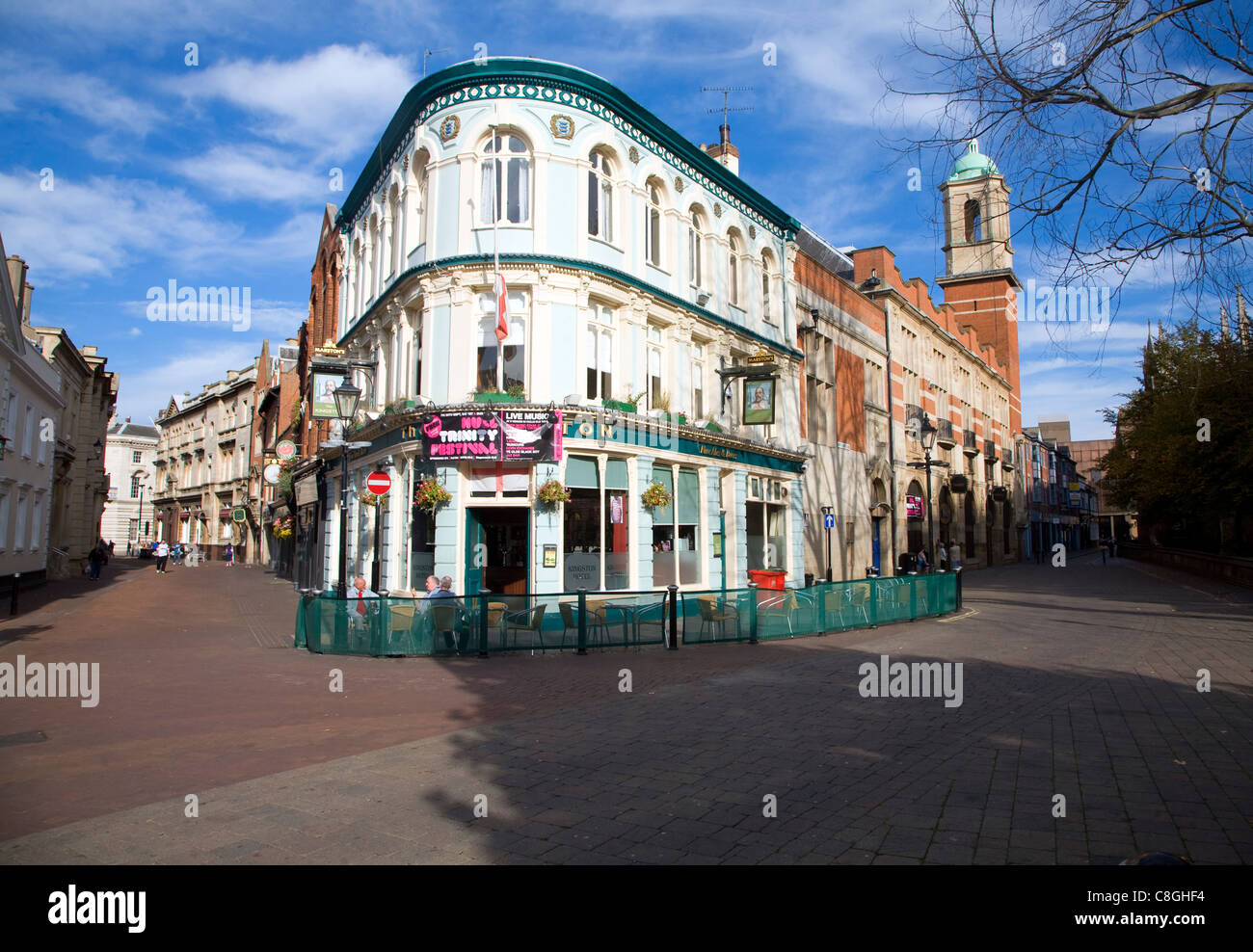 The Kingston pub in the city centre, Hull, Yorkshire, England - Stock Image