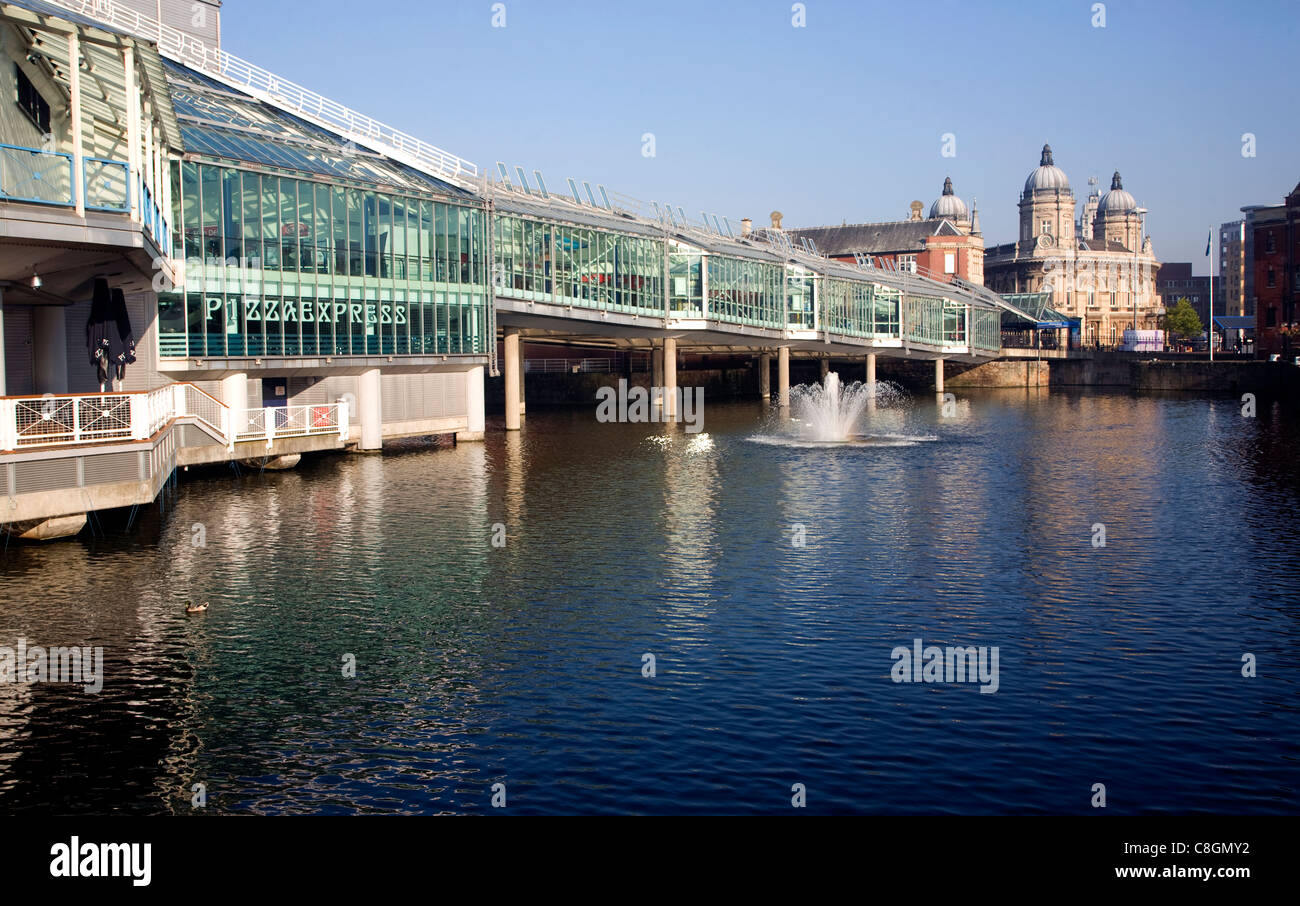 Princes Quay shopping centre, Hull, Yorkshire, England - Stock Image