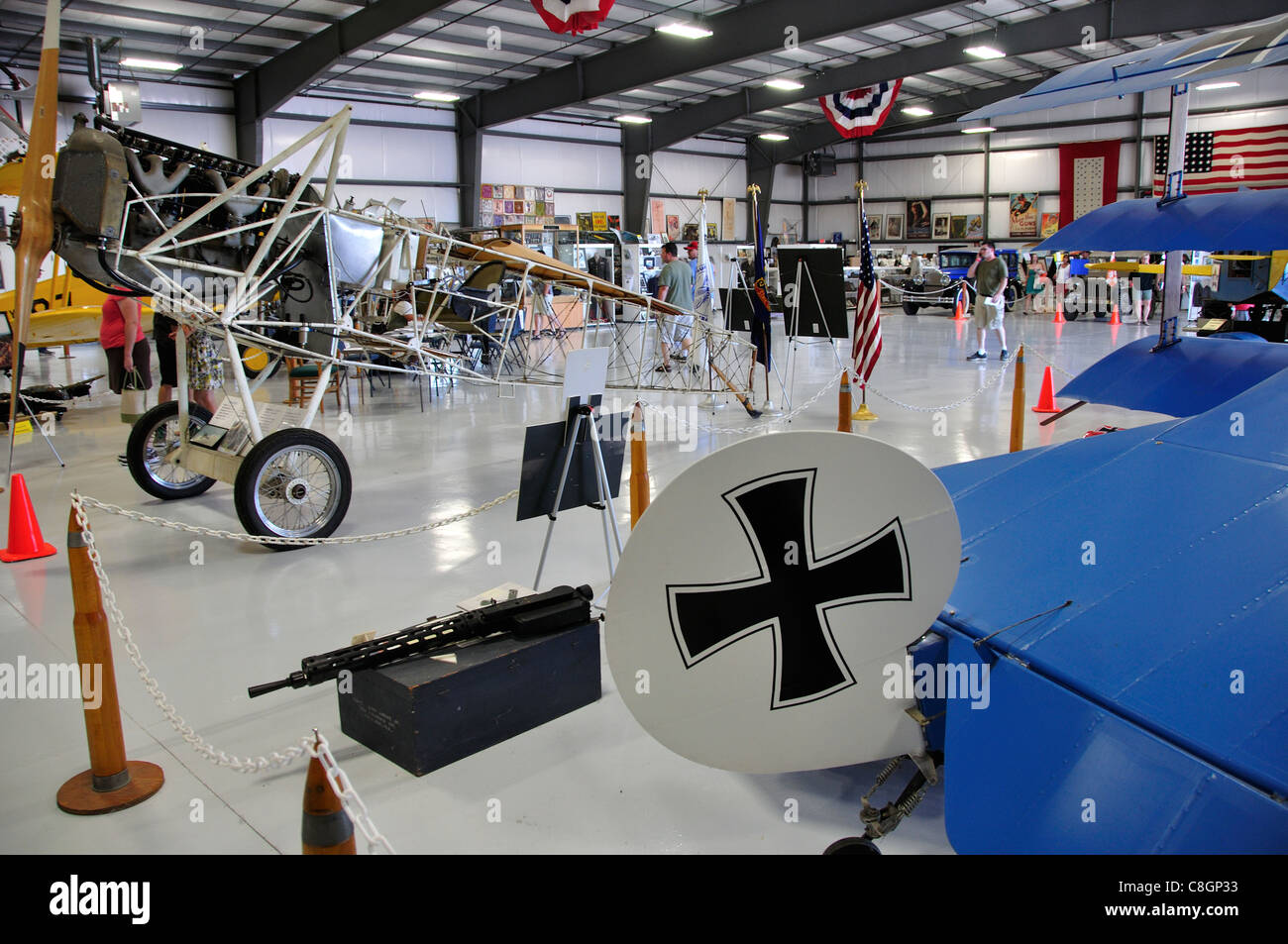 Warhawk Aviation Museum, Nampa Municipal Airport - Stock Image