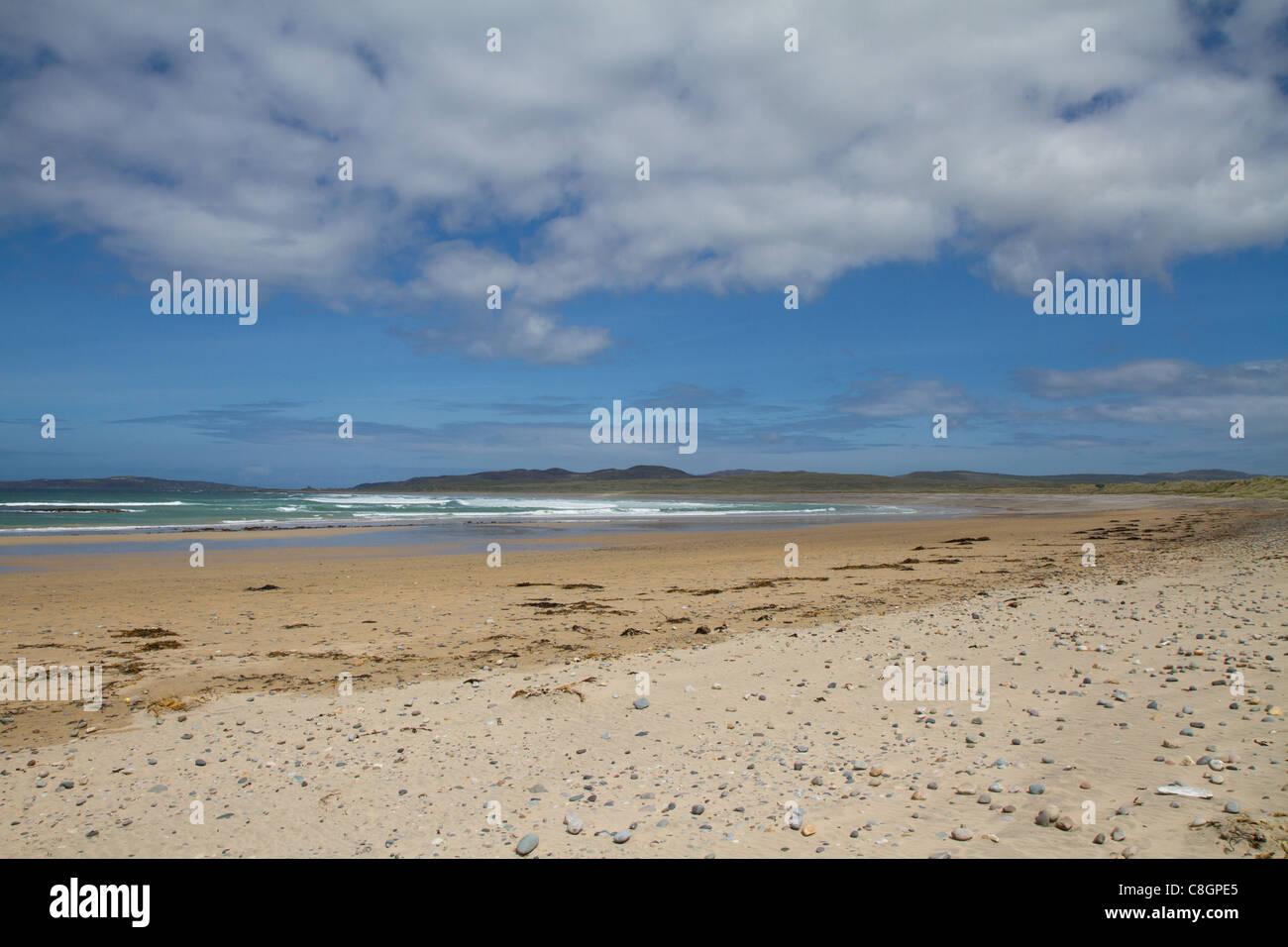 Pollan Beach, Ballyliffin, Co. Donegal - Stock Image