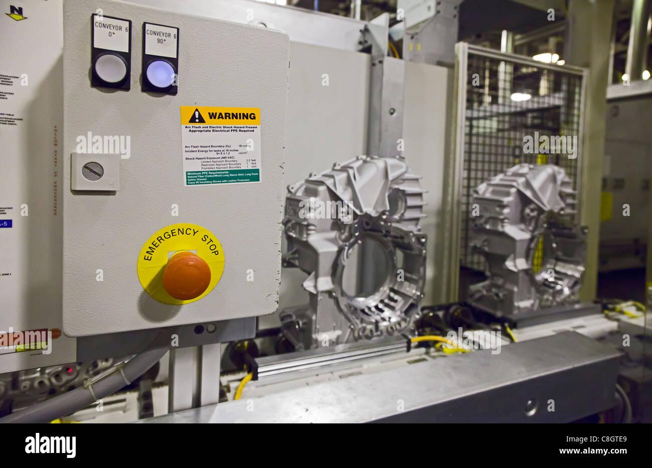 General Motors' Warren (Michigan) Transmission Plant - Stock Image