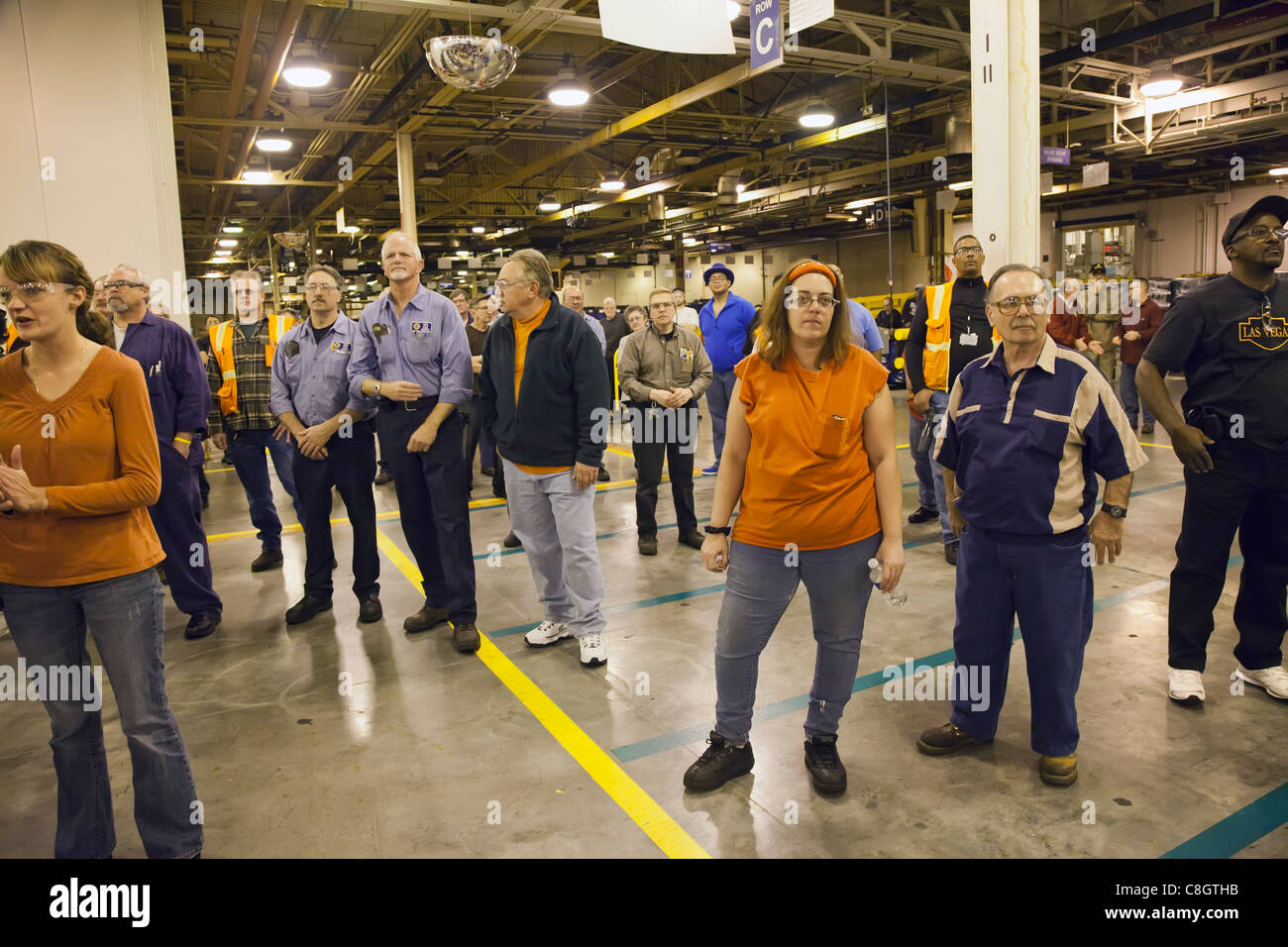 General Motors' Warren (Michigan) Transmission Plant - Stock Image