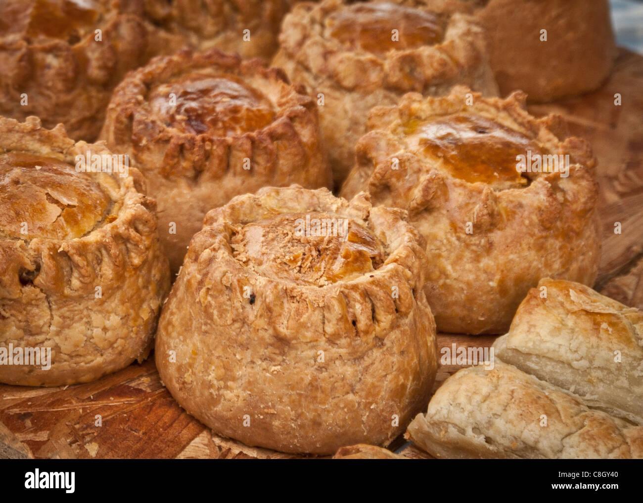 homemade pies Stock Photo