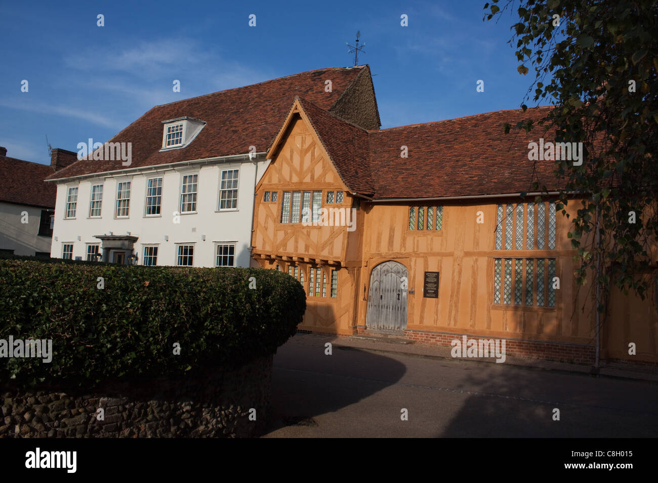 The Little Hall Museum at Lavenham, Suffolk - Stock Image