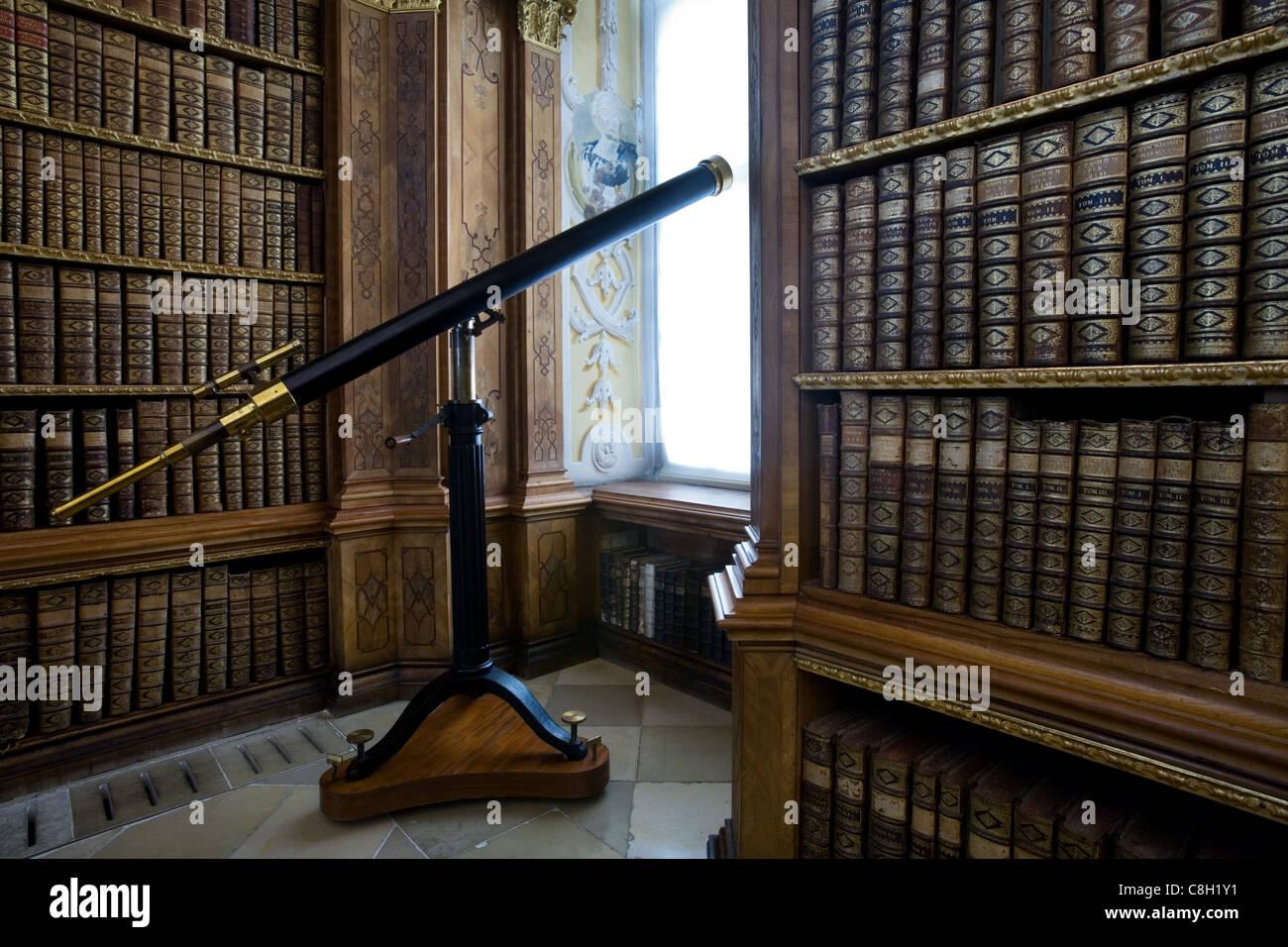 Melk Abbey Library Stock Photos  Melk Abbey Library Stock-9878