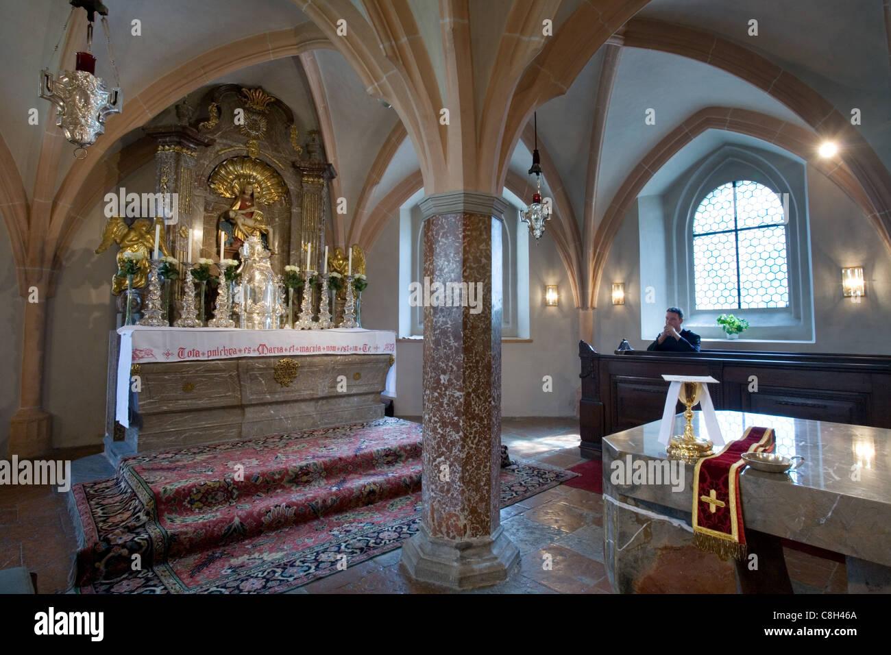 Chalice in the Göttweig Abbey Chapel, Austria - Stock Image