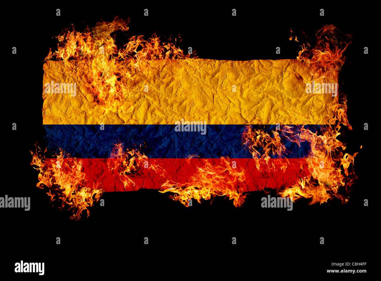 National Symbols Flag Colombia Stock Photos National Symbols Flag