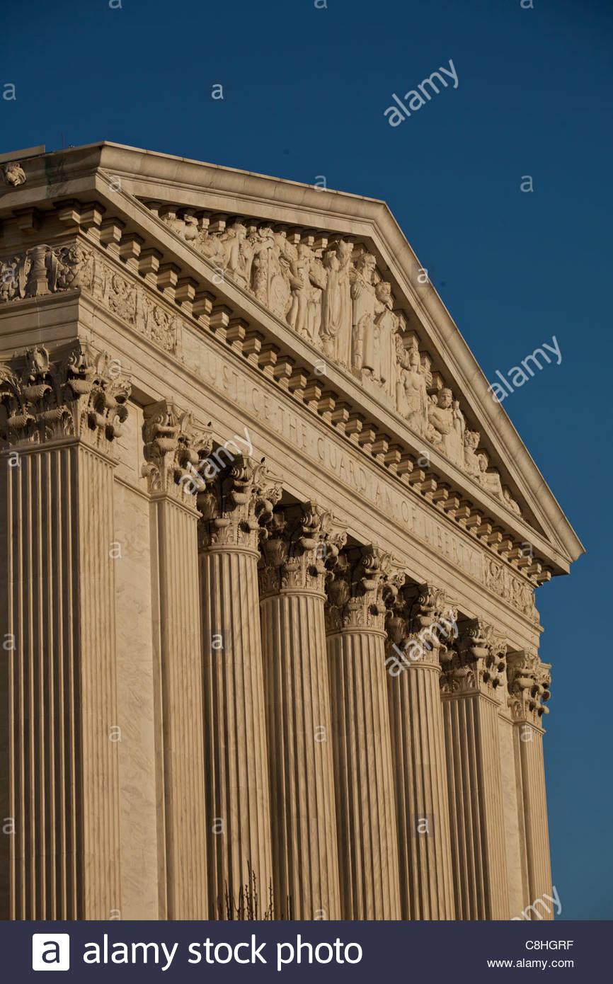 Supreme Court - Stock Image