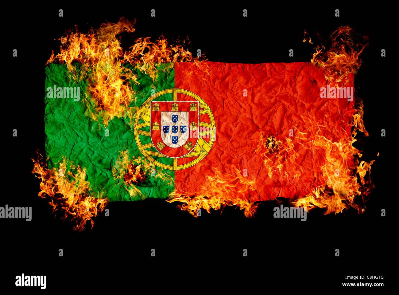 National Symbols And Flag Of Portugal Stock Photo 39724400 Alamy