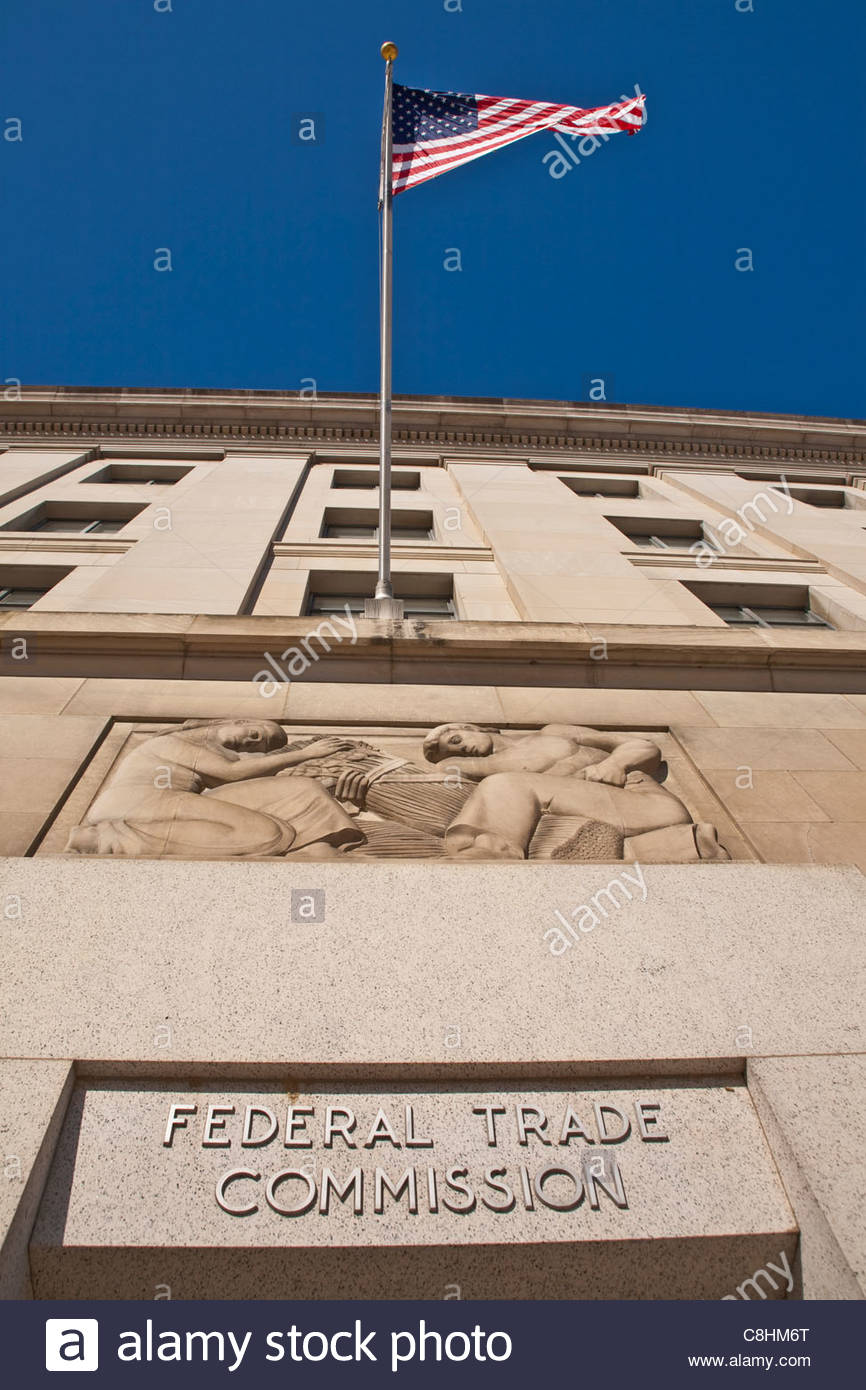 Federal Trade Building. - Stock Image