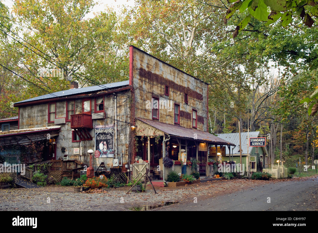 The Story Inn in Story, Indiana - Stock Image