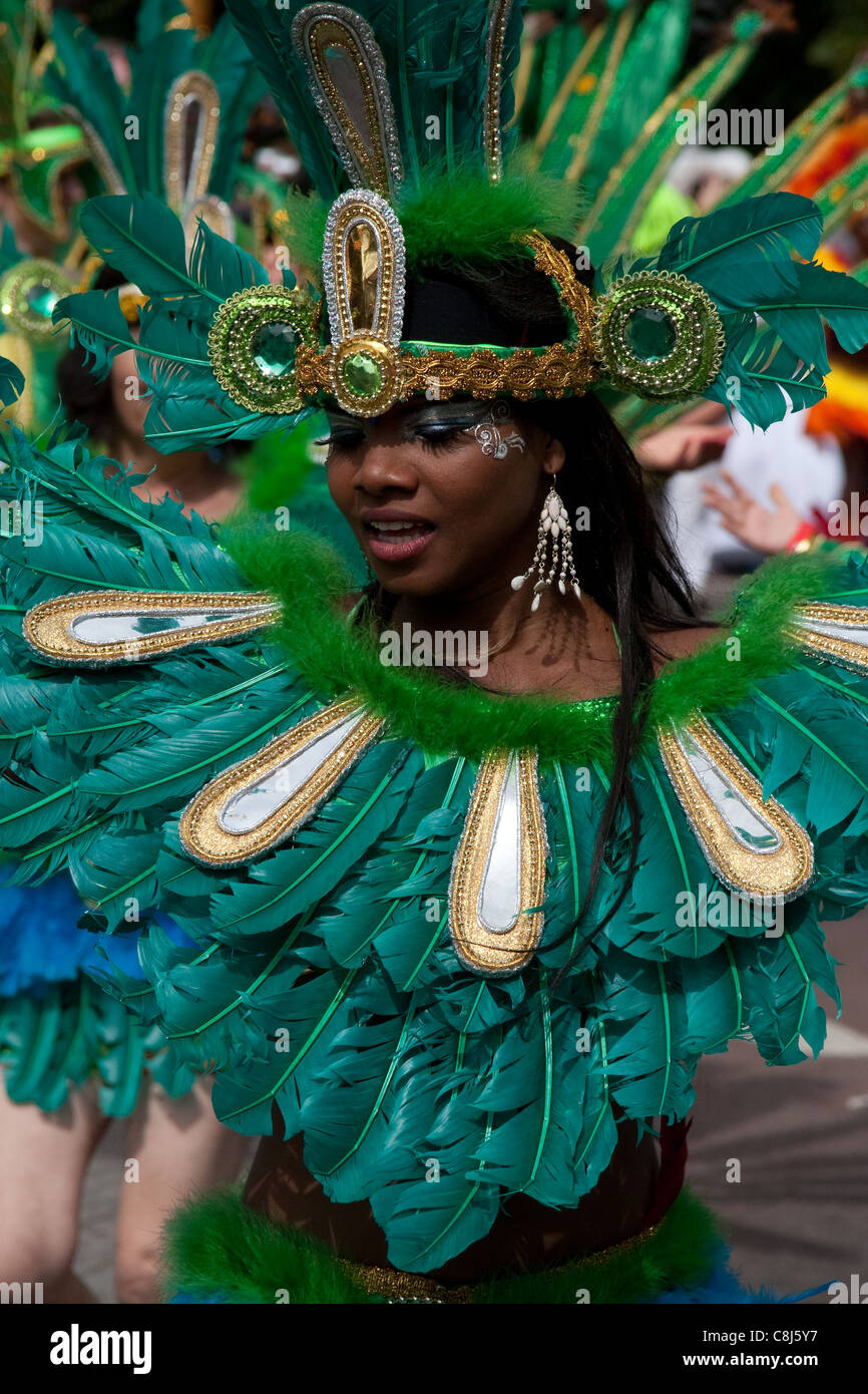 Notting hill Carnival London 2011 - Stock Image