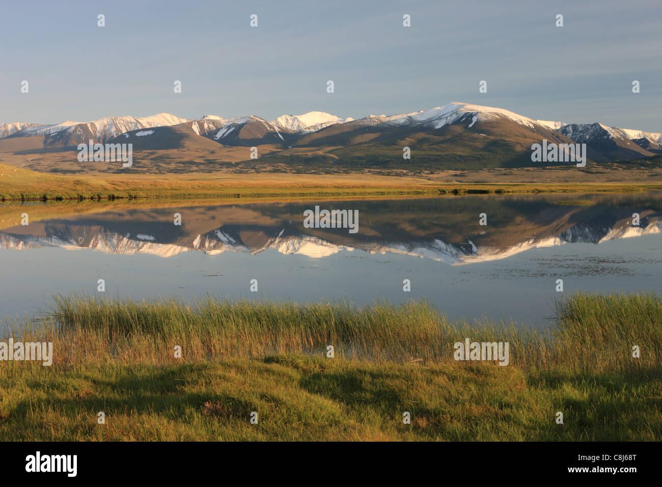 Altay Tavan Bogd National Park, Hurgan Nuur, Bayan Ölgii, Mongolia, Mongolian Altai, mountains, Mountain-Valley, Stock Photo