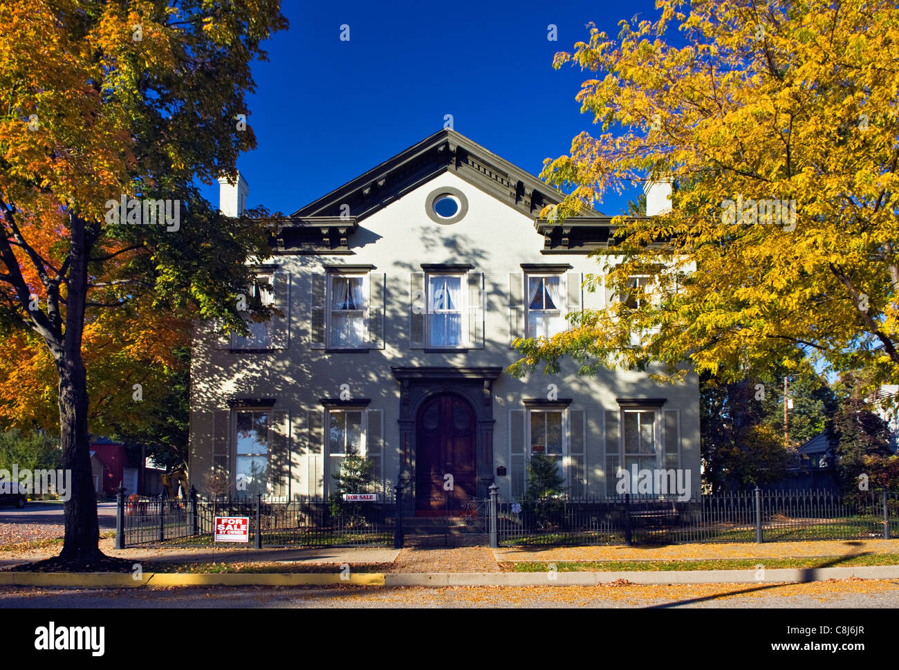 Surprising Stately Home For Sale In Madison Indiana Stock Photo Download Free Architecture Designs Scobabritishbridgeorg