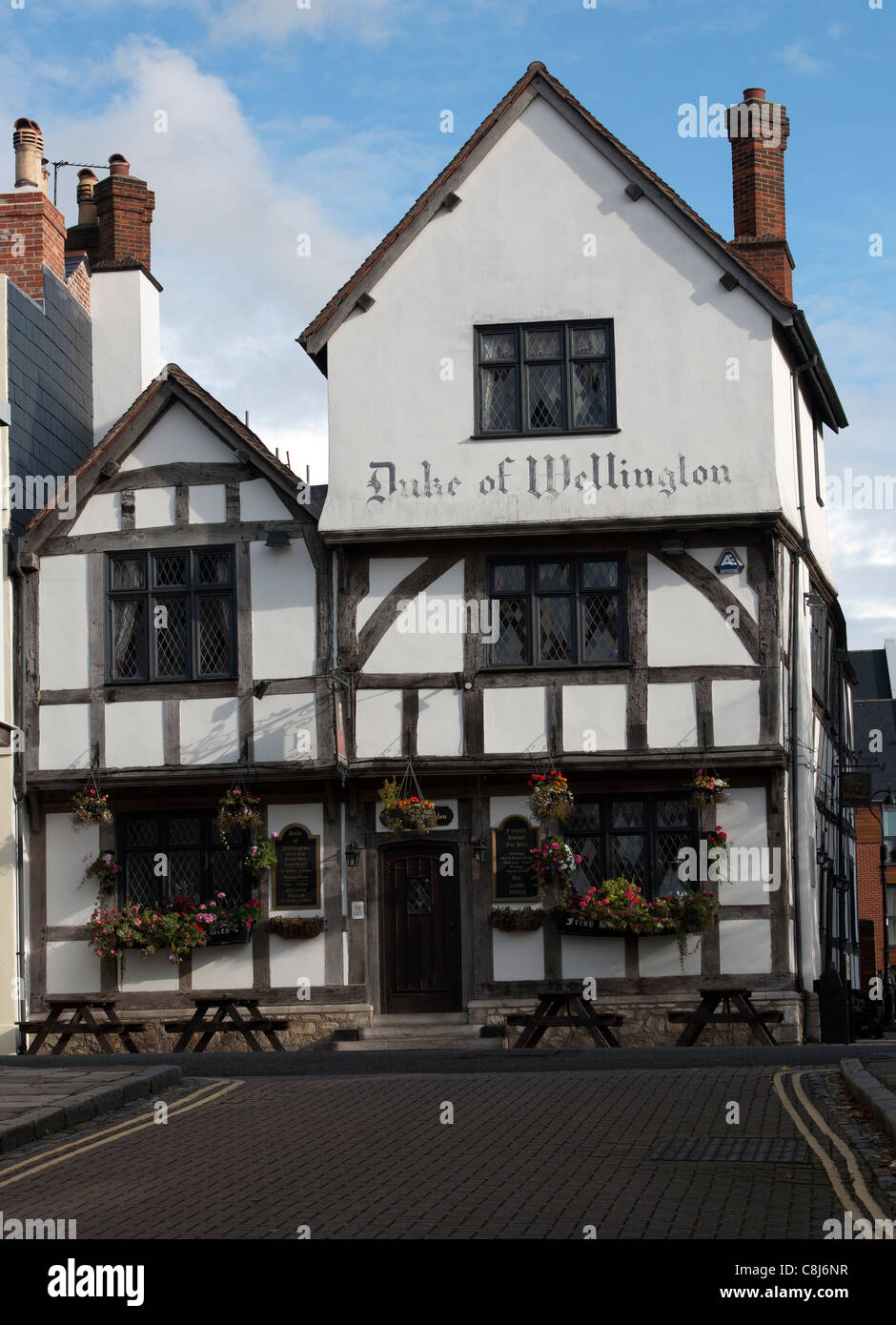 Duke of Wellington Public House, Bugle Street, Southampton, Hampshire, England, UK. - Stock Image