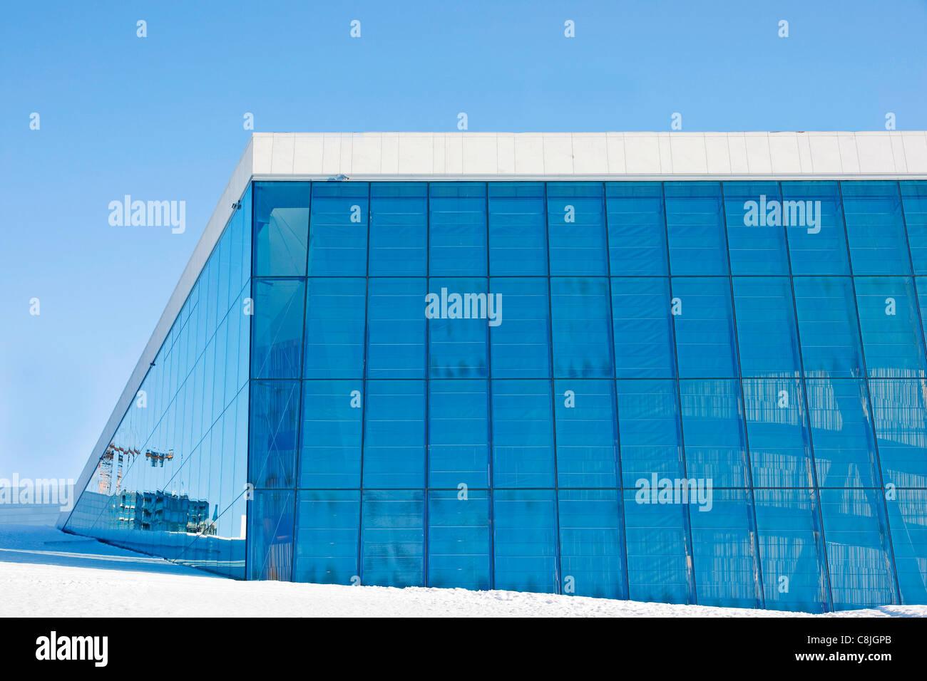 Opera house in Oslo - Stock Image