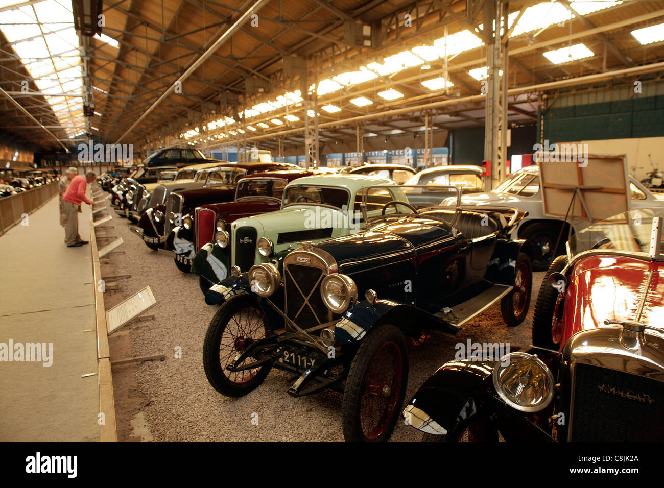 reims champagne automobile car museum in reims france mus e stock photo 39748082 alamy. Black Bedroom Furniture Sets. Home Design Ideas