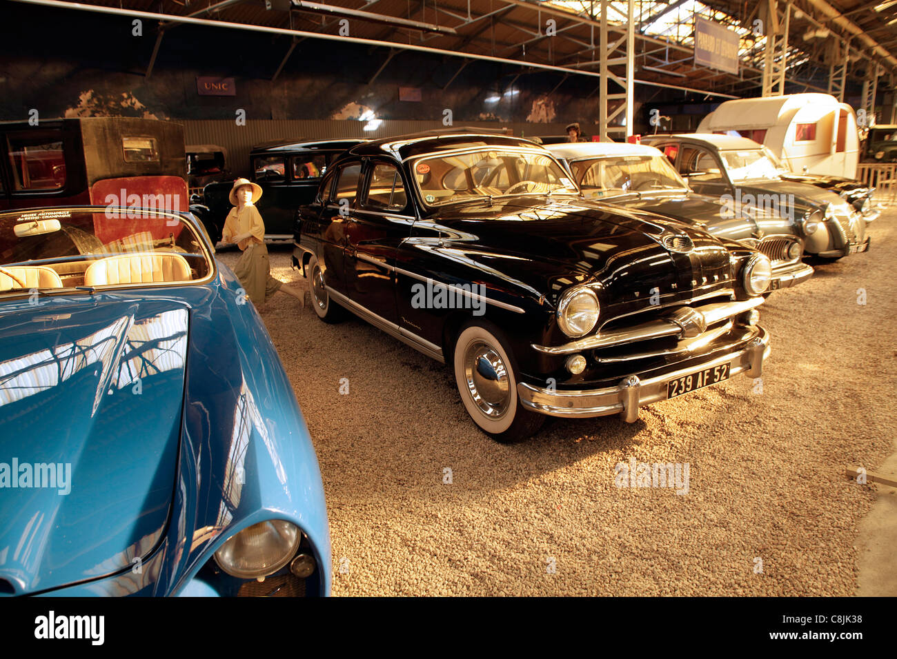 reims champagne automobile car museum in reims france mus e stock photo 39748108 alamy. Black Bedroom Furniture Sets. Home Design Ideas