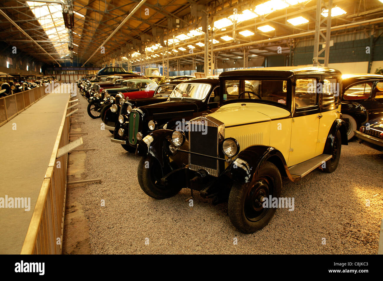 reims champagne automobile car museum in reims france mus e stock photo 39748355 alamy. Black Bedroom Furniture Sets. Home Design Ideas