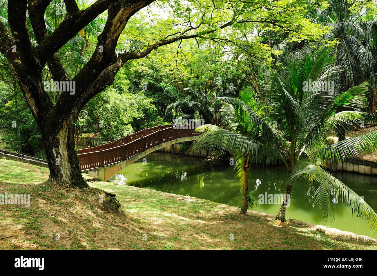 Lake Gardens (Taman Tasik Perdana), Kuala Lumpur, Malaysia - Stock Image