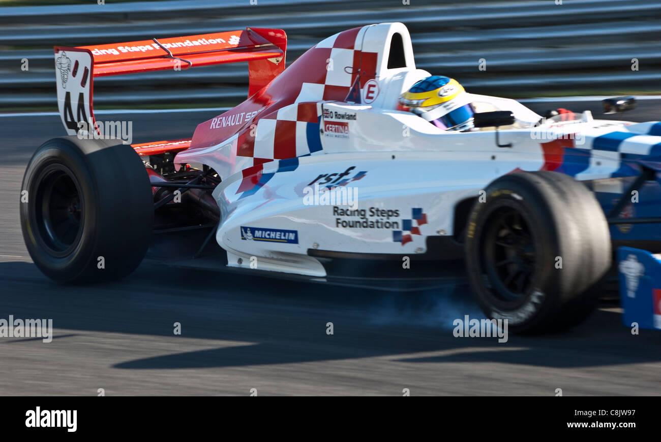 Oliver Rowland, Formula Renault Championship, Brands Hatch - Stock Image