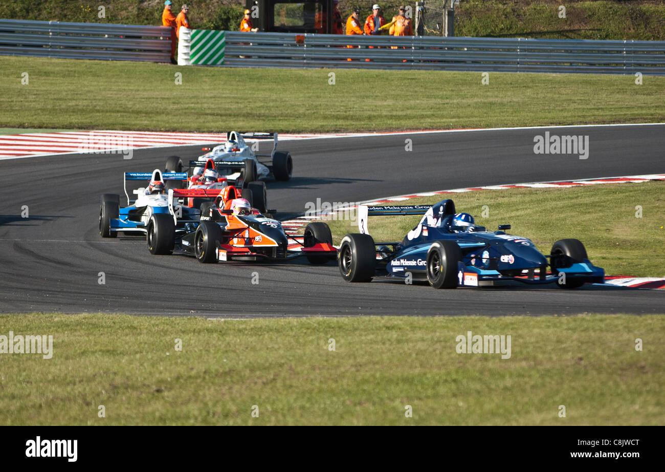 Formula Renault Championship track action, Brands Hatch Motor Racing Circuit - Stock Image