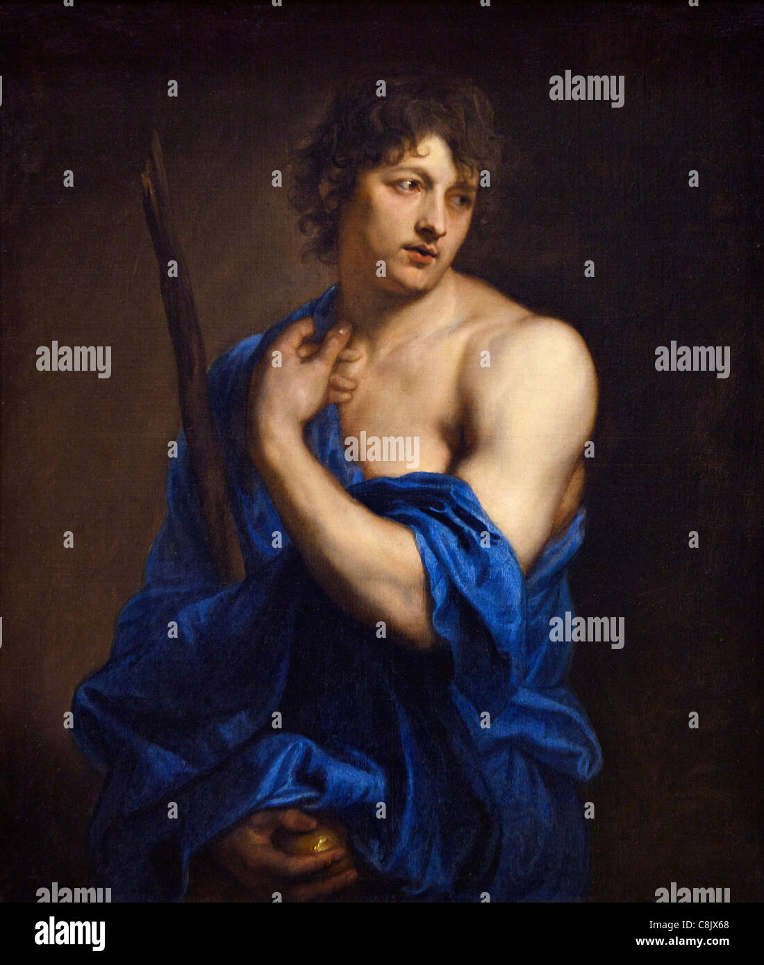 The Shepherd Paris, by Sir Anthony van Dyck, c 1630, Wallace Collection, London, England, UK, United Kingdom, GB, - Stock Image