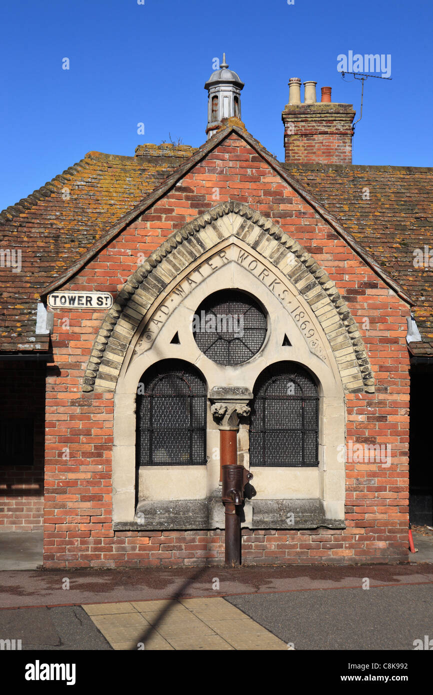 Old water works building Rye, East Sussex, England, UK - Stock Image