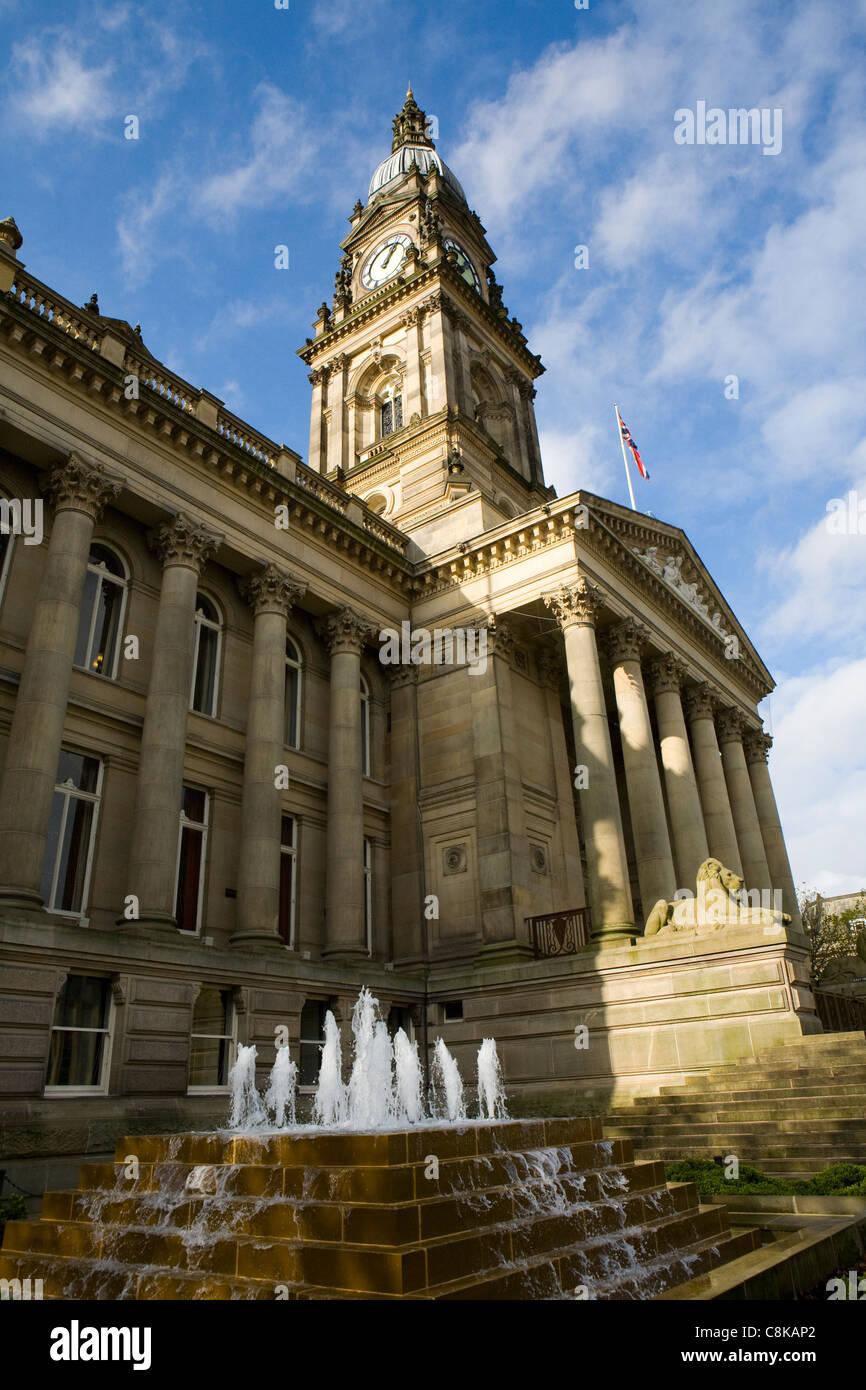 The Albert Halls also known as Bolton Town Hall, Victoria Square, Bolton, Lancashire, UK Stock Photo
