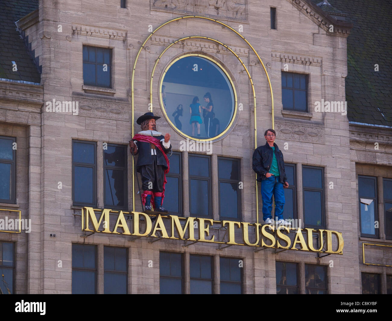 Madame Tussaud house of wax Amsterdam the Netherlands - Stock Image