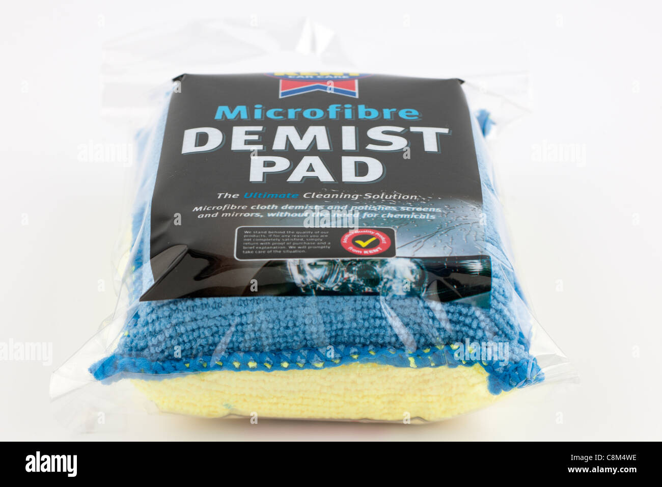Kent car care Microfibre demist pad - Stock Image