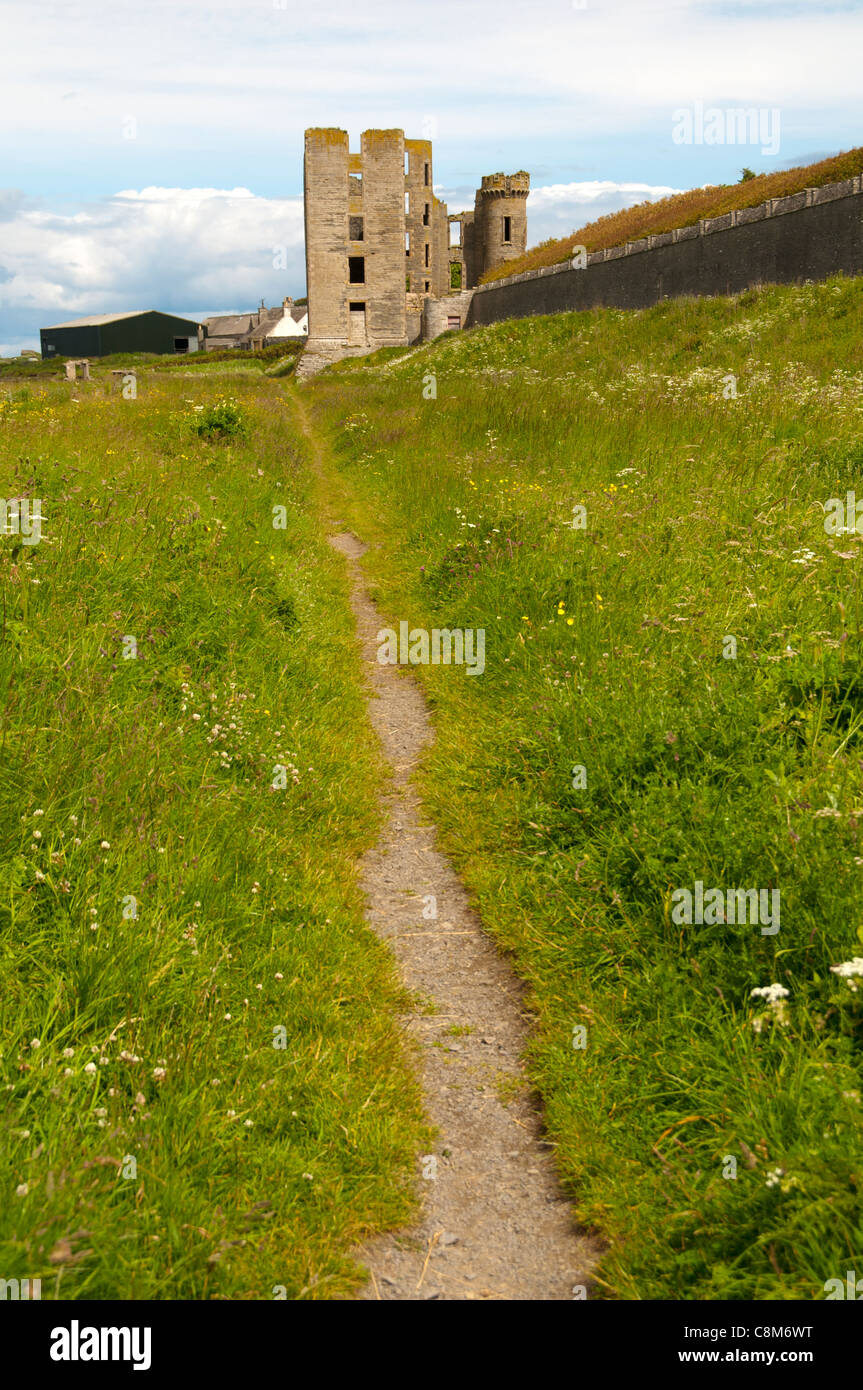 The Castle, Thurso, Caithness, Scotland, UK - Stock Image
