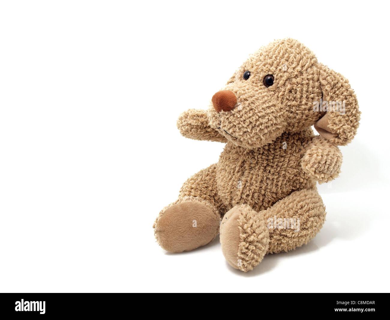 Toy dog isolated - Stock Image