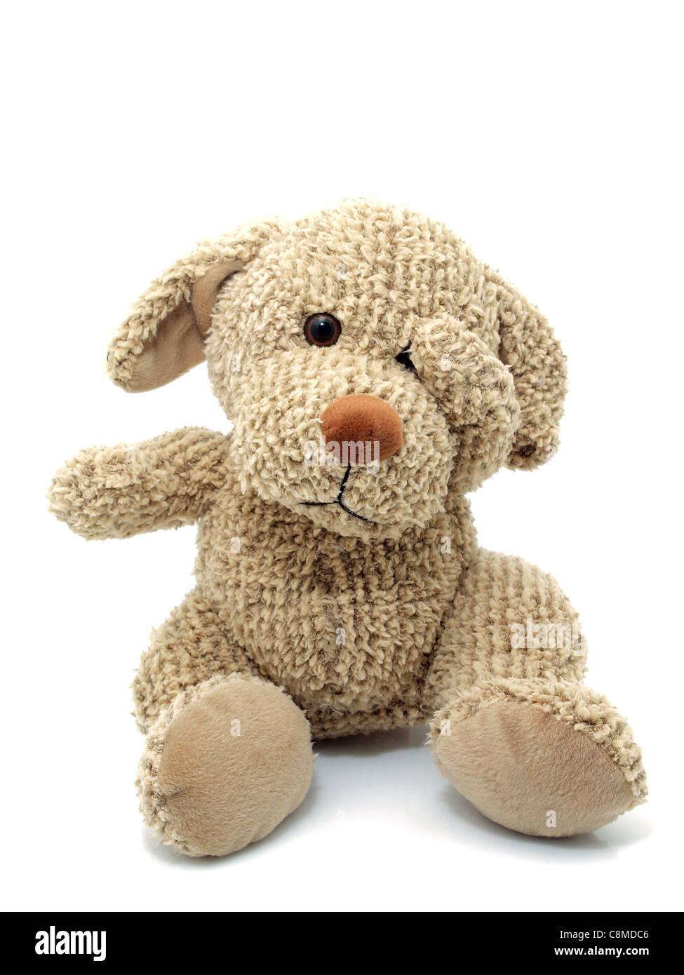 Toy dog - Stock Image