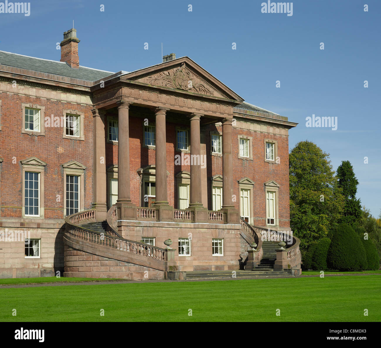 Tabley House, Cheshire - Stock Image