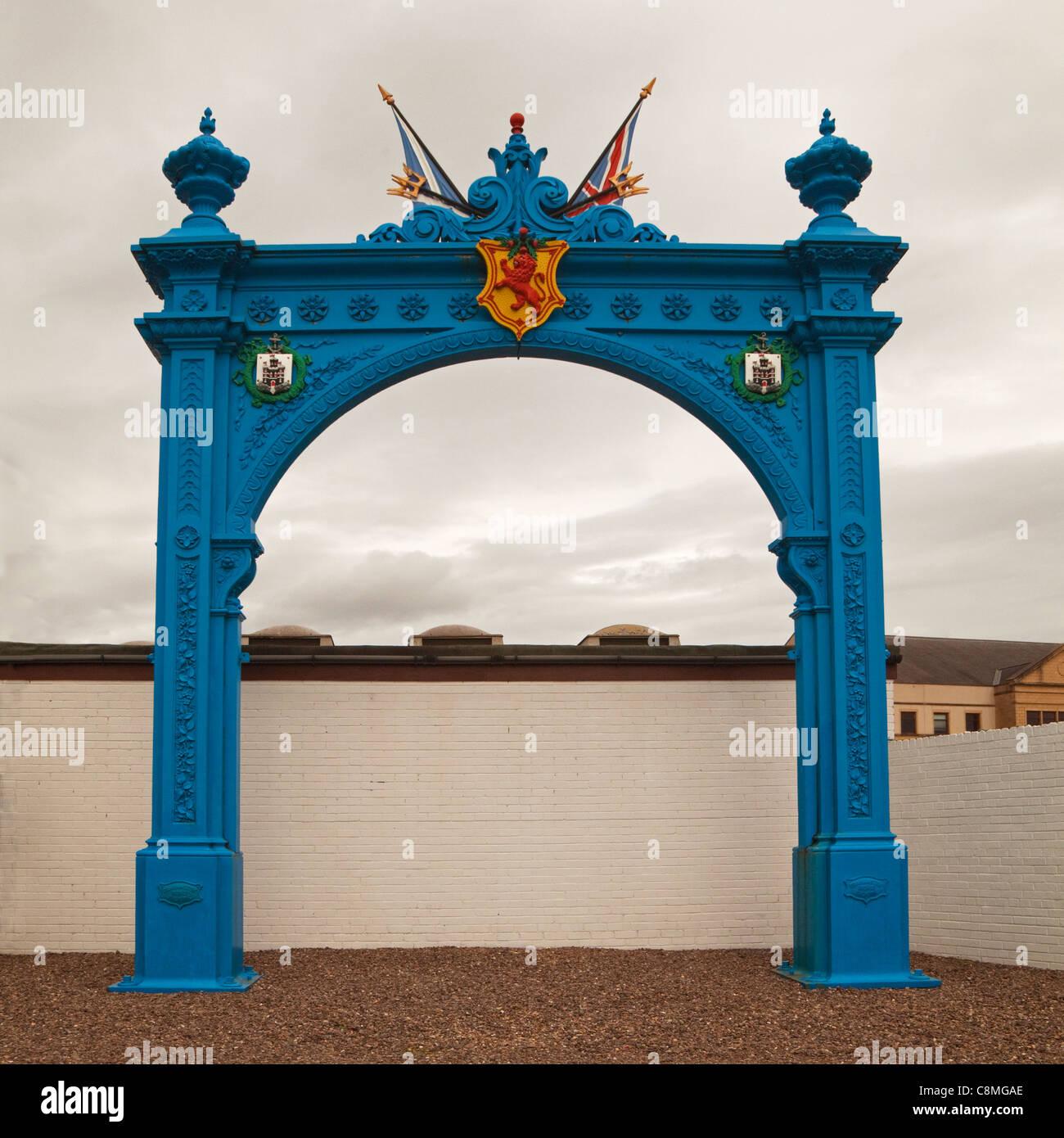 The Grahamston Gate, Carron, Falkirk - Stock Image