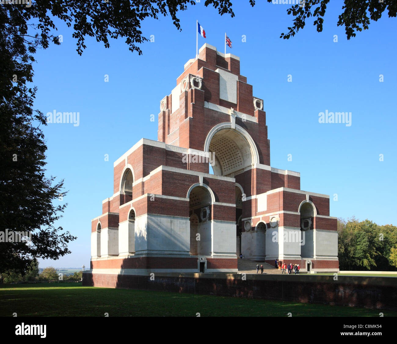 Thiepval Memorial to The Missing on The Somme, France. - Stock Image