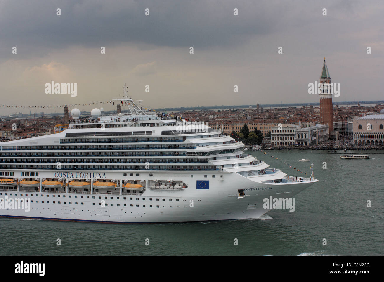 Cruise ship Costa Fortuna - Stock Image
