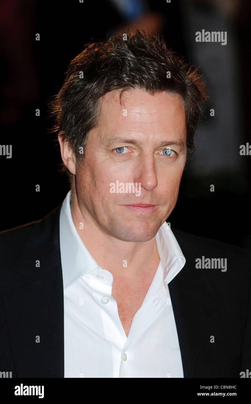 Hugh Grant attends the premiere of 'Did You Hear About The Morgans?' at Leicester Square, London, 8th December - Stock Image