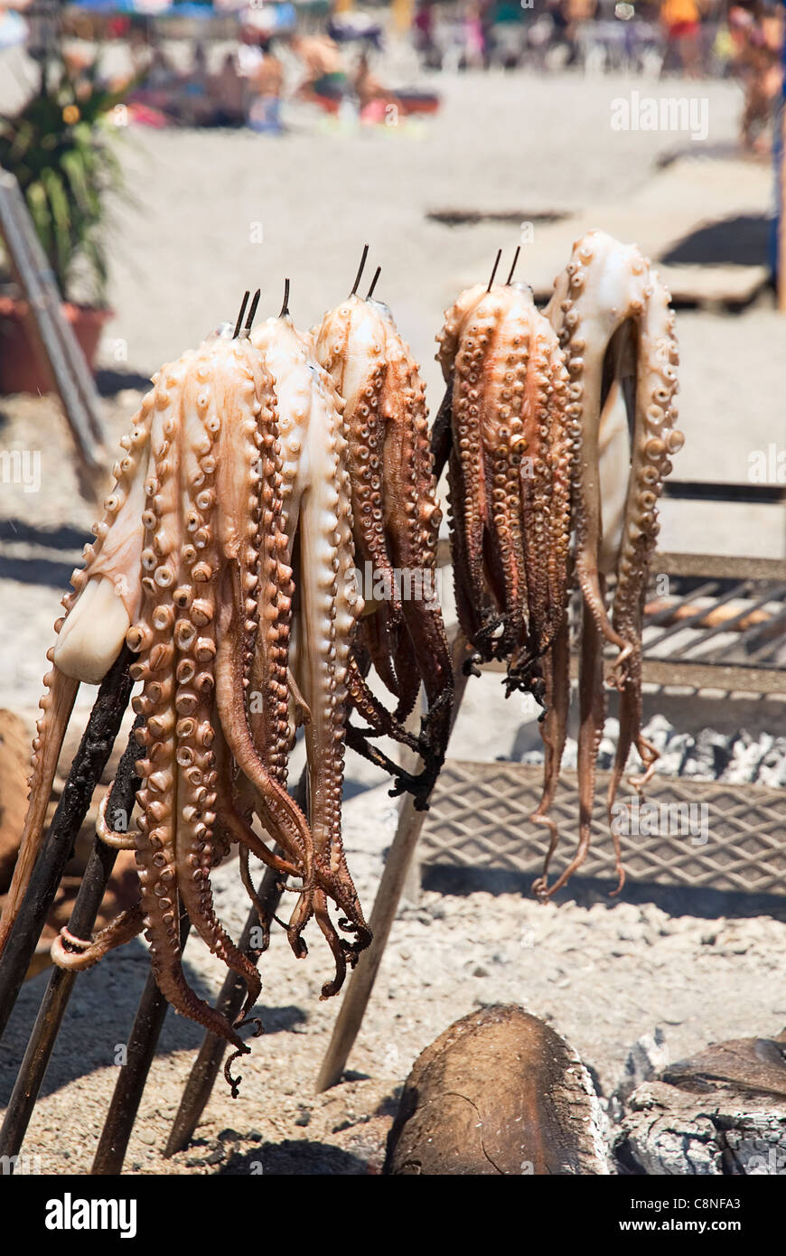 Grilling Octopus Stock Photos & Grilling Octopus Stock Images - Alamy