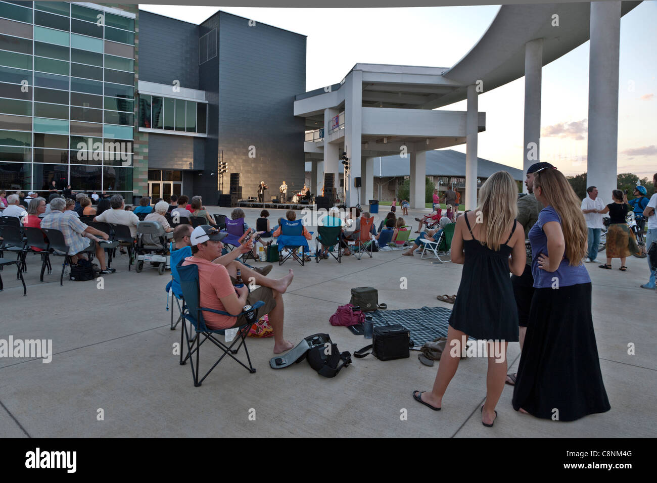 Concert, Long Center For The Performing Arts - Stock Image
