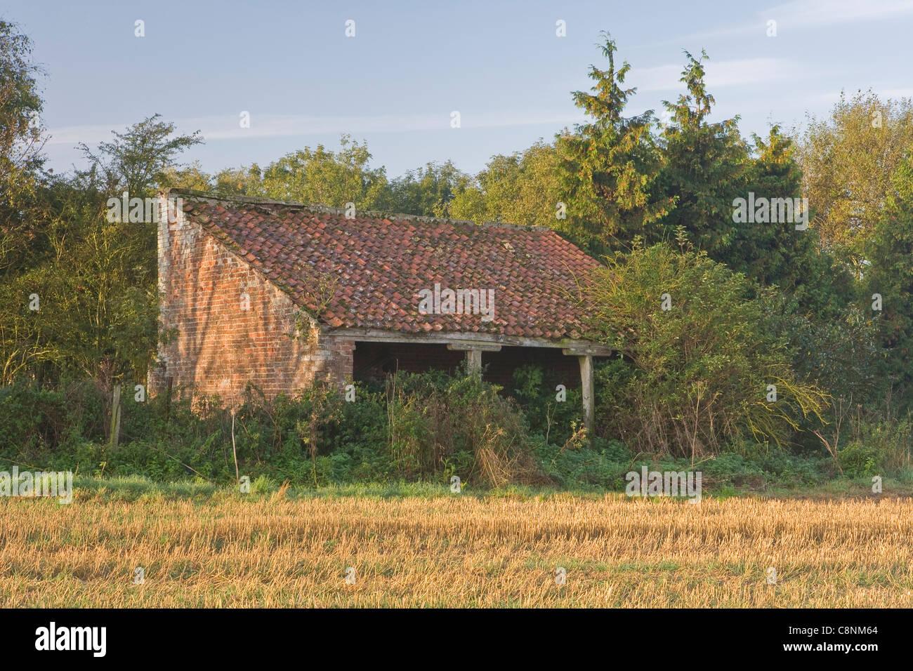 Old Farm Building Stock Photo
