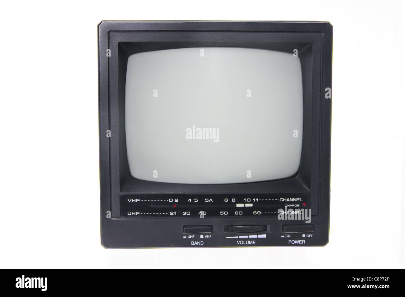 Portable TV - Stock Image