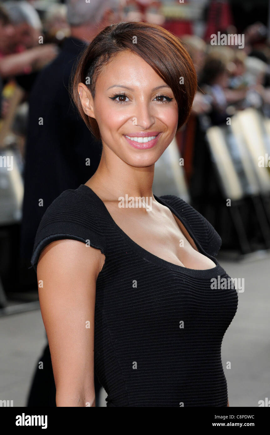 Amelle Berrabah attends the UK Premiere of 'Public Enemies' at Leicester Square, London, 29th June 2009. - Stock Image